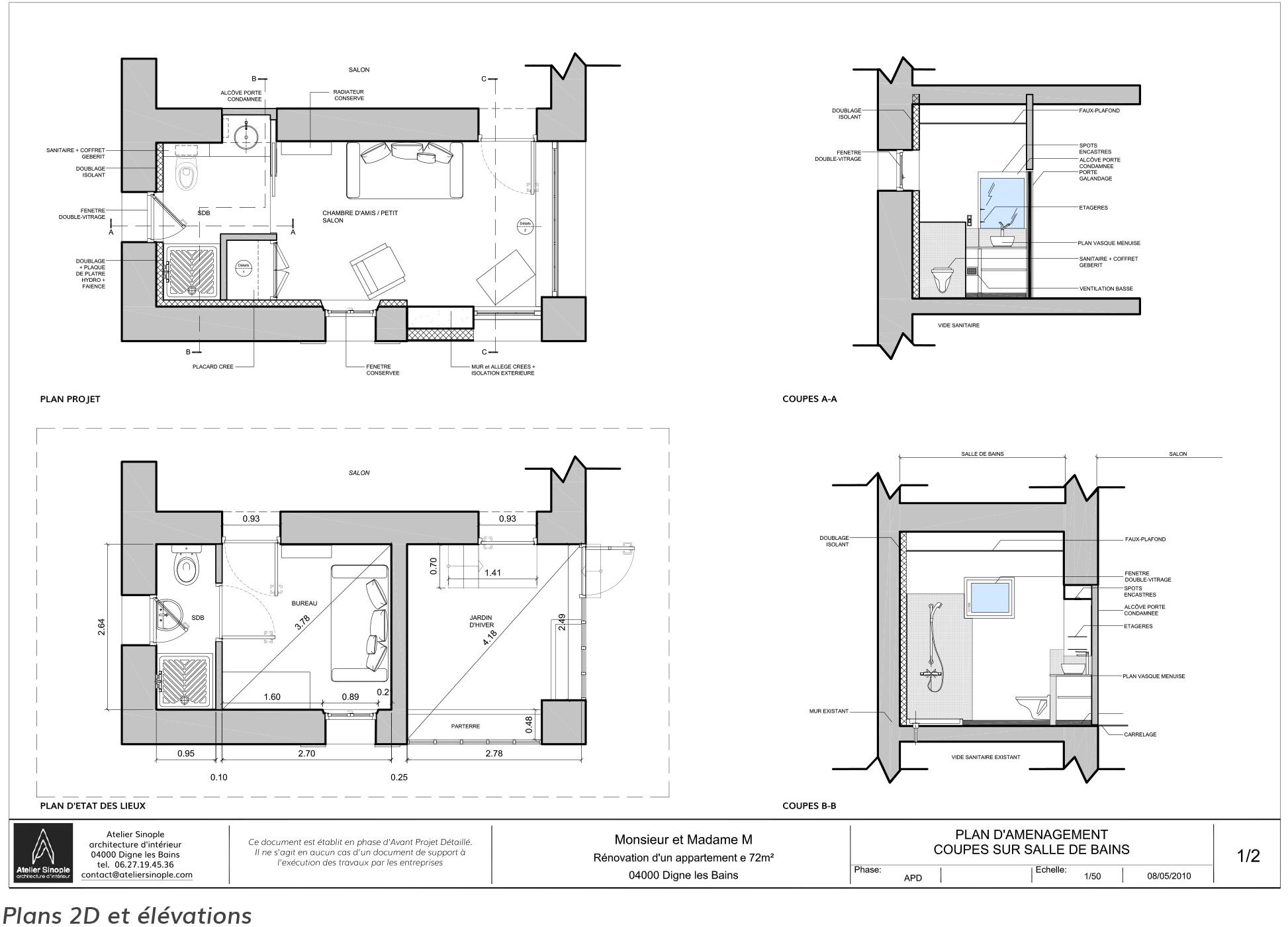 Atelier Sinople R Alisations Architecte D Int Rieur